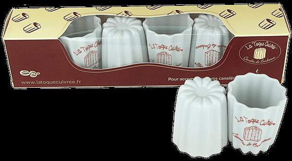 Coffret de 6 tasses à café La Toque Cuivrée