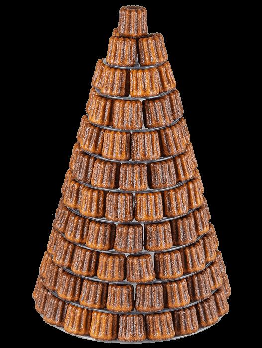 Pyramide de Canelés
